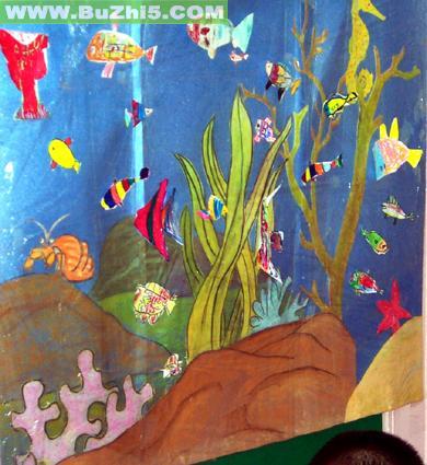 幼儿园墙面海底世界图片(第7页)