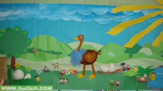 蛋宝宝的秘密小班主题墙布置