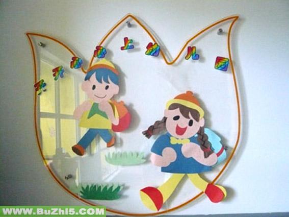 幼儿园主题墙饰图片图片