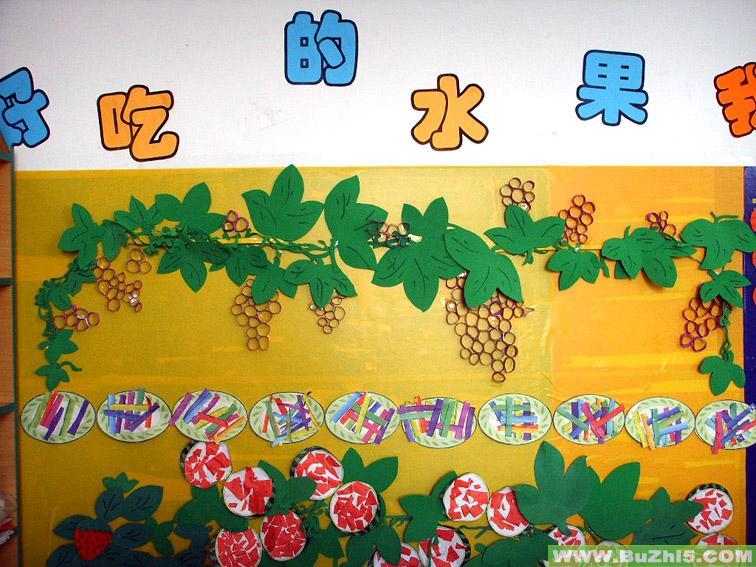 幼儿园主题墙布置     热门幼儿园环境布置图片 最新布置图片