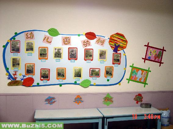 树班级主题墙设计