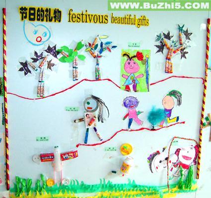 中班主题墙布置图片大全 幼儿园主题墙面 饰 布置图片