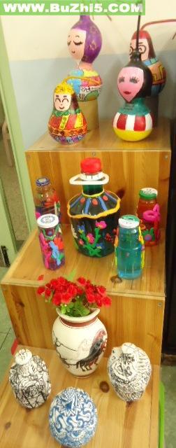 幼儿园活动室手工作品布置大全