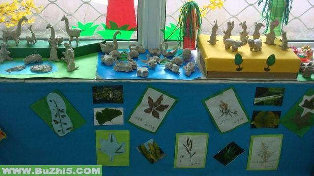 幼儿园活动室手工作品布置大全(第3页)