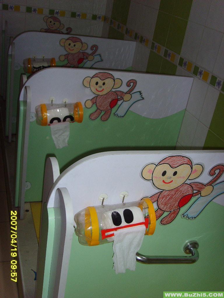 小猴子上厕所厕所布置