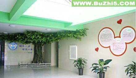 幼儿园室内大厅布置图片