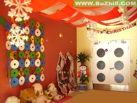幼儿园圣诞节室内布置图片(第2页)