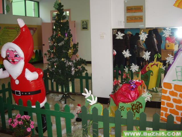 幼儿园圣诞节室内布置图片(第7页)