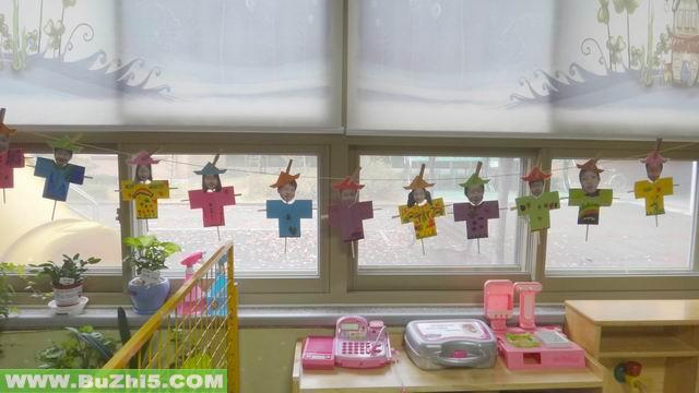 幼儿园窗台作品展图片大全(第2页)