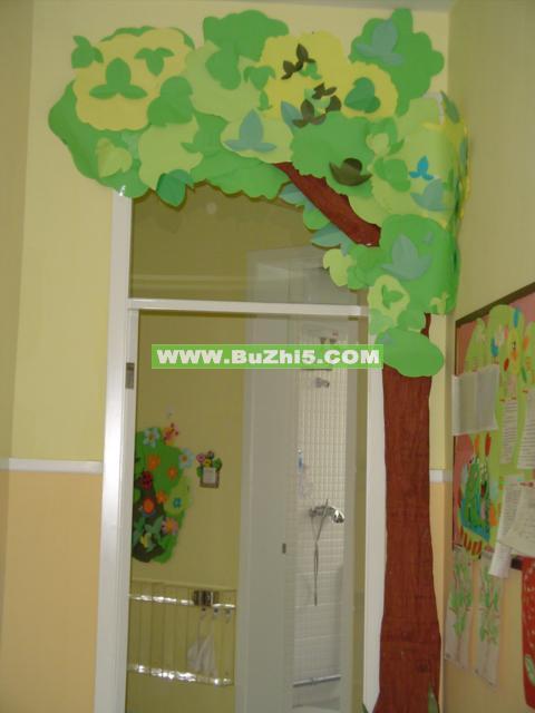 大树门小班门窗布置