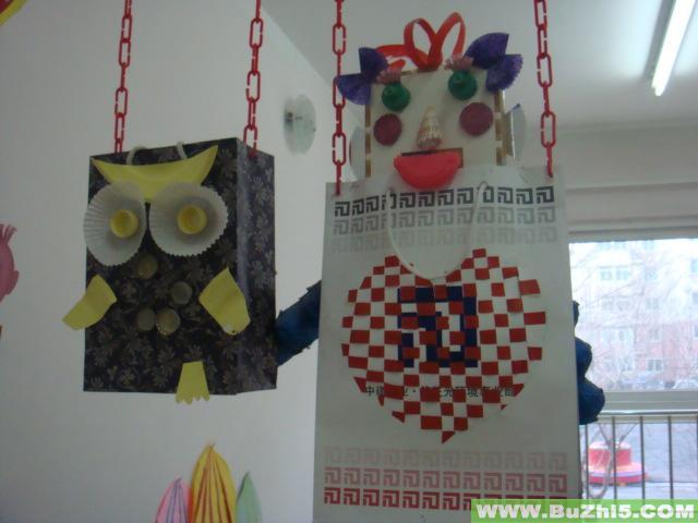 幼儿园吊饰布置  上一个布置