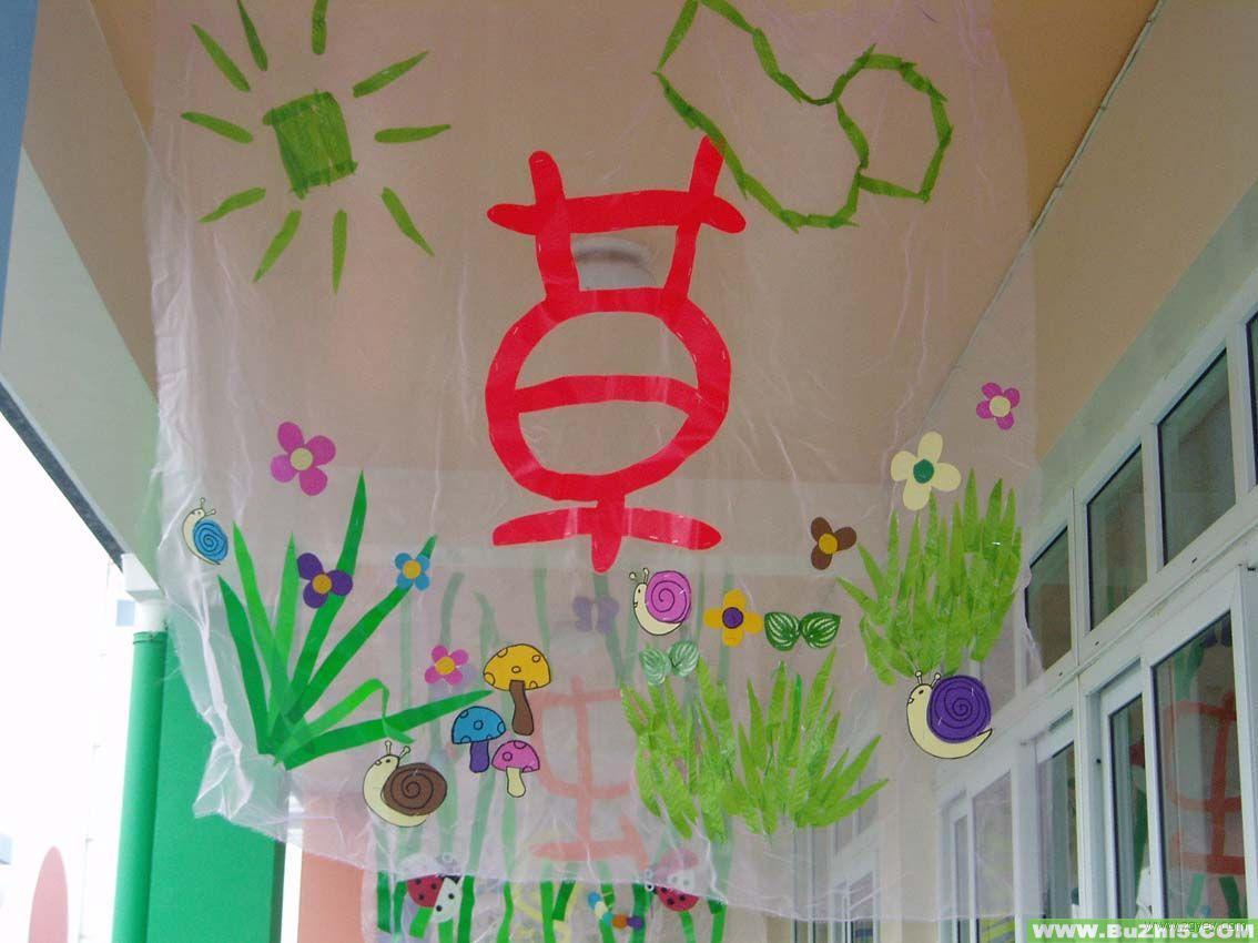 幼儿园走廊吊饰相多图