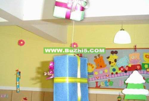幼儿园吊饰布置