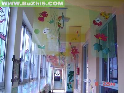 幼儿园吊饰布置  热门幼儿园环境布置图片
