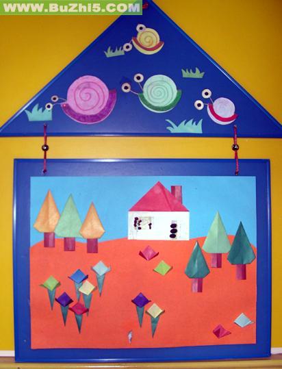 蜗牛与房子室内吊饰图片