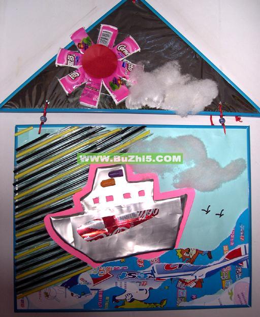 幼儿园吊饰布置  轮船中班室内吊饰布置下载说明:在图片上点击鼠标