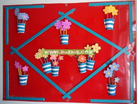 幼儿园国庆节环境创设图片_教室布置网