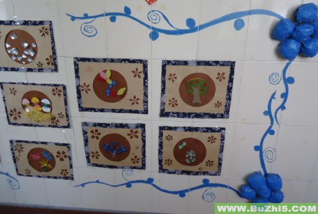 幼儿园楼道墙面大班作品布置(第13页)