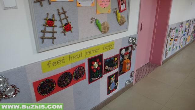 幼儿园楼道墙面中班作品布置(第5页)