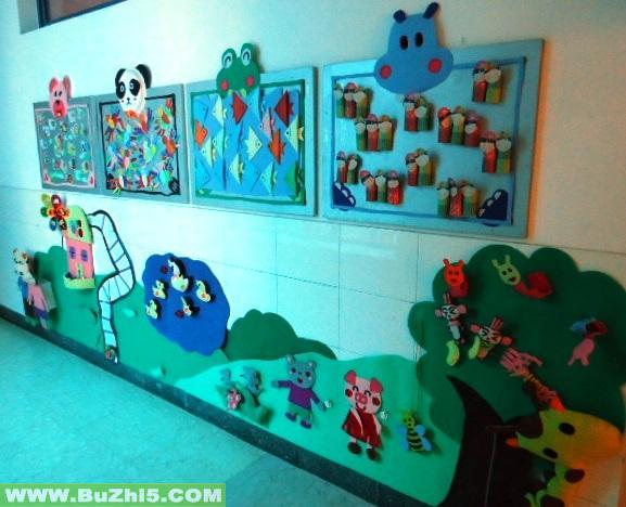幼儿园楼道墙面中班作品布置(第3页)