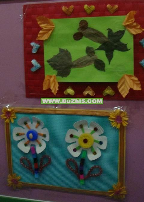 幼儿园环境创设草图_大班墙面布置_. 楼道墙面大班 .