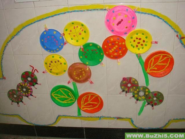 幼儿园楼道墙面布置图片欣赏图片
