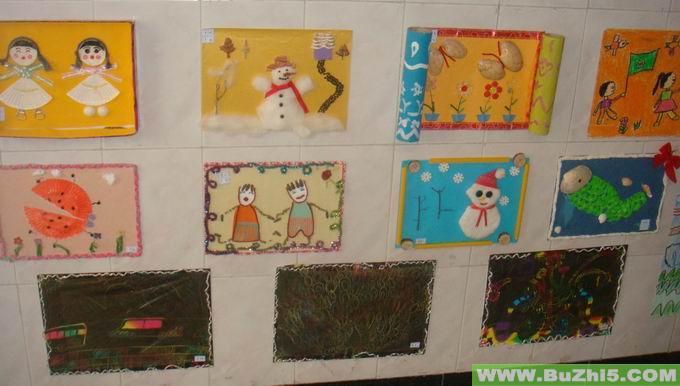 幼儿园楼道墙面大班作品布置(第2页)