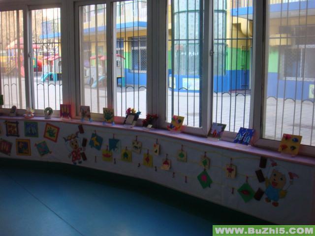 幼儿园楼道手工作品布置(第4页)