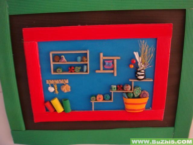 简笔画 幼儿园环境布置图片;