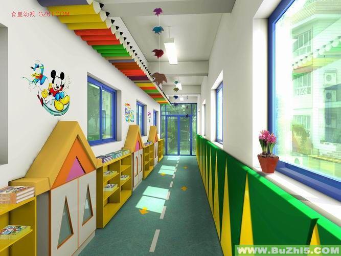 幼儿园楼道布置图片大全