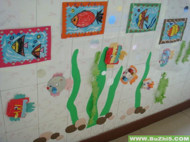 幼儿园楼道布置  海洋世界楼道走廊布置下载说明:在图片上点击鼠标