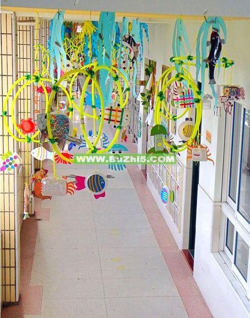 花环走廊吊饰图片