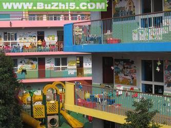 幼儿园教学楼图片_幼儿园教学楼布置图片大全