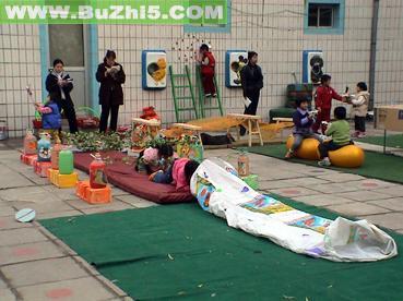 幼儿园室外活动区布置图片大全