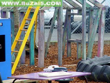 幼儿园室外环境布置  上一个布置