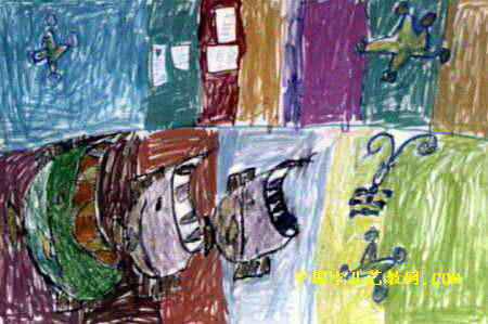 群鱼吃大鱼图片,小鱼吃大鱼漫画_《大鱼吃小鱼》儿童画7幅