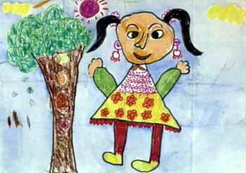 儿童画画大全 儿童装饰画