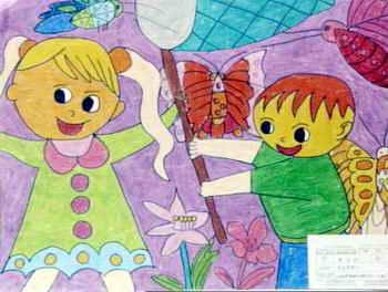 《快乐星期天》儿童画7幅