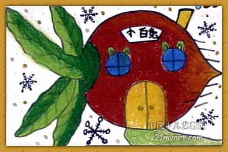 小兔小兔可爱的图片画画