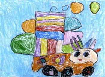 儿童画画大全 儿童水粉画