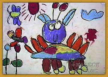 《太空人》儿童画3幅