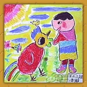 儿童秋游画_儿童画秋游作品欣赏_快乐的秋游儿童画 ...
