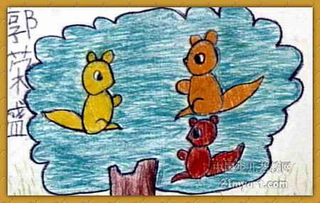 两只小松鼠_第6页_乐乐简笔画