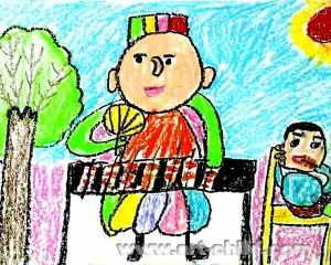 《春天的美好》儿童画