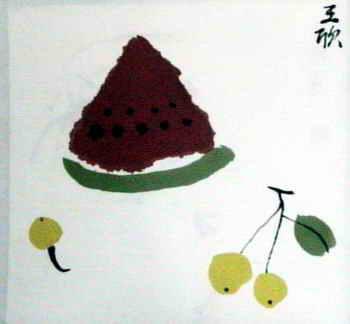 《水果》儿童画8幅