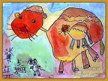 饶阳县偷油按键_《猫妈妈捉老鼠》儿童画图片